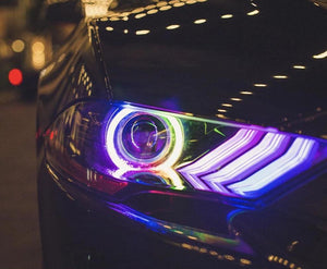 Ford Mustang (18+) DRL Boards - Headlightleds.com