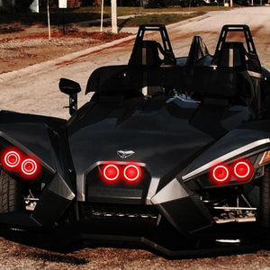 Polaris Slingshot Ring Halo Kit (Canada Model) - Headlightleds.com