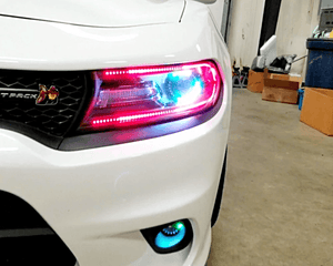 Dodge Charger Custom Headlights 2016-2020 - Headlightleds.com