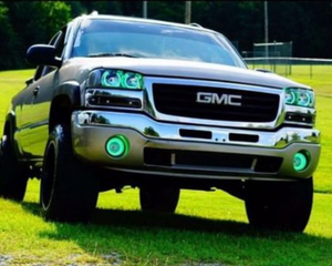 GMC Sierra (99-06) Halo Kit - Headlightleds.com