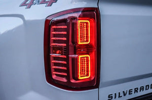 Chevrolet Silverado (14-18) XB LED Tails - Headlightleds.com