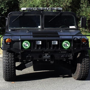 Hummer H1 (92-06) Halo Kit - Headlightleds.com