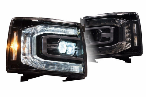 Image of Chevrolet Silverado (07-13) XB LED Headlights - Headlightleds.com