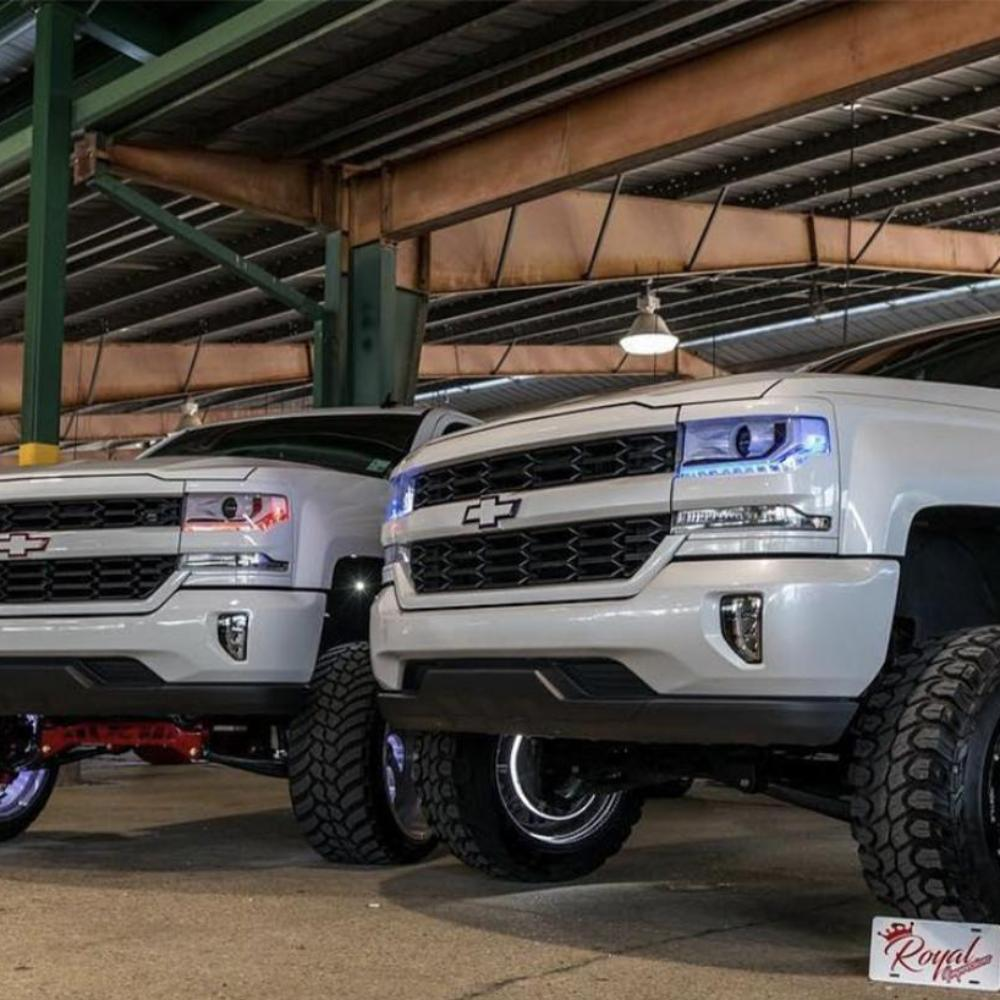 Chevrolet Silverado (16-18) RGBW+A DRL Boards - Headlightleds.com
