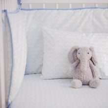 Load image into Gallery viewer, Elephants Cot Bumper - Addie and Harry
