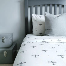 Load image into Gallery viewer, Mini Planes Bedding Set - Addie and Harry