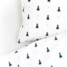 Load image into Gallery viewer, Mini Rockets Bedding Set - Addie and Harry