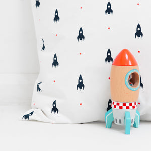 Mini Rockets Bedding Set - Addie and Harry