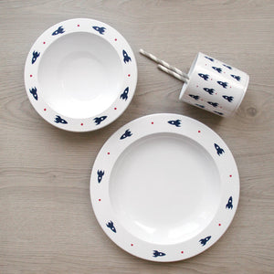 Mini Rockets Tableware Set - Addie and Harry
