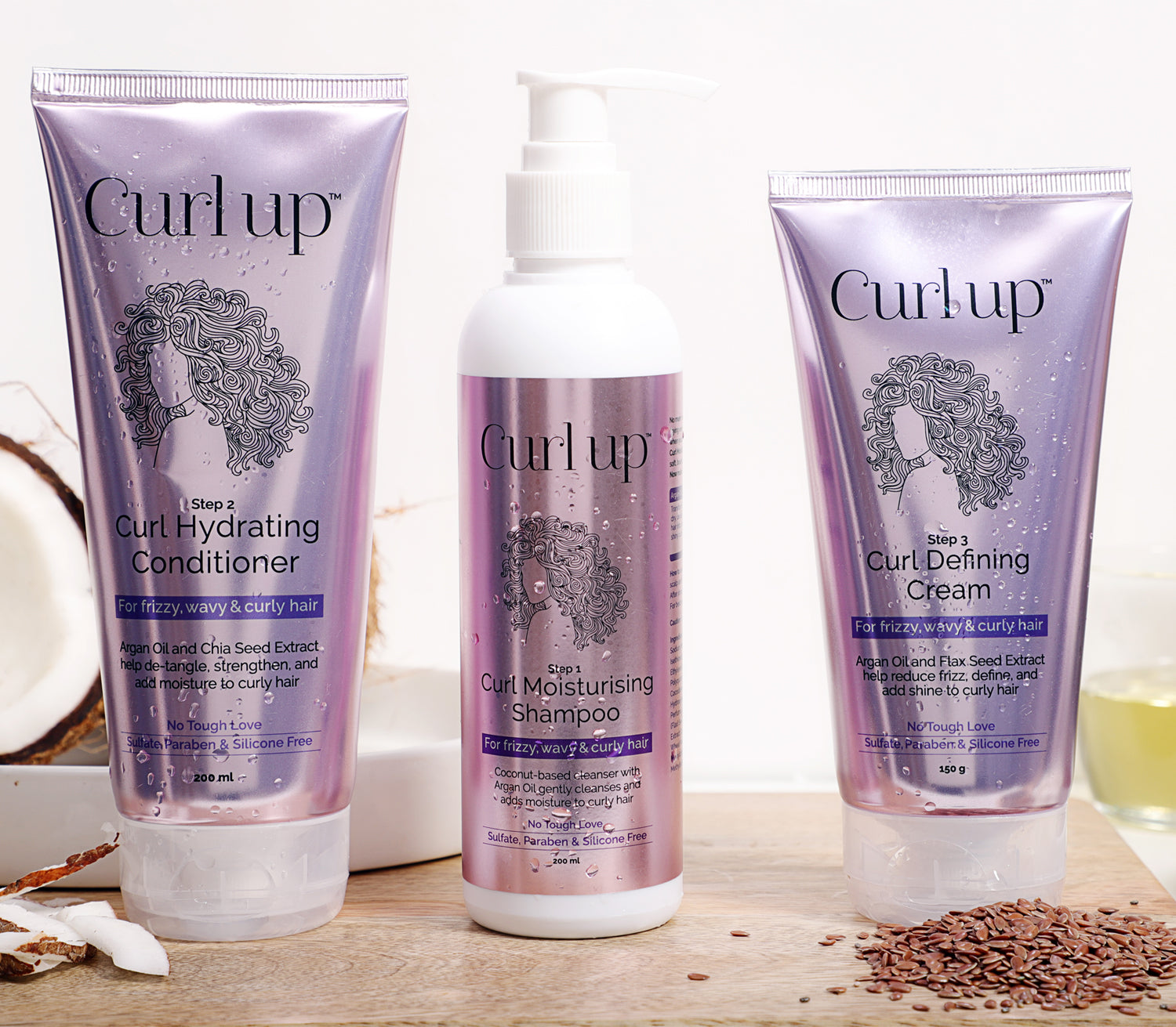 Curlup Curl Care Bundle
