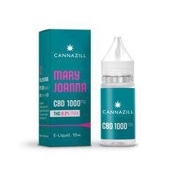 Cannazill CBD E-Liquid - Mary Joanna 10ml