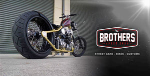West Coast Chopper Custom Build By Brothers Speed Shop Brisbane Custom Vehicle Builders Parts and Apparel Supply