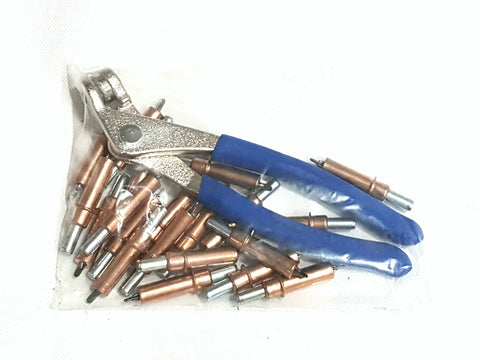 1/8th Cleco and Plier Set
