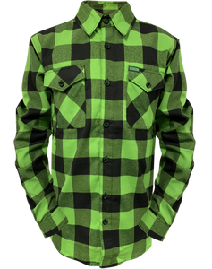 Dixxon Gang Green Flannel