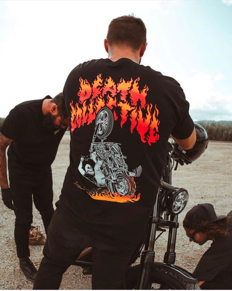 Death Collective Flames Tee