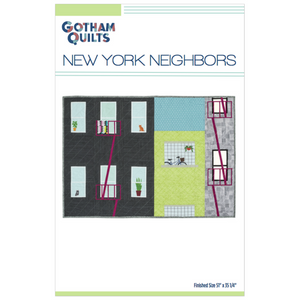 New York Neighbors Quilt Print Pattern