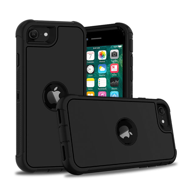 Apple iPhone SE 2020 - Premium Heavy Duty Case - Black