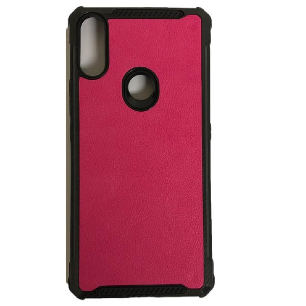 Alcatel 3V (2019) - Premium Leather Case - Hot Pink