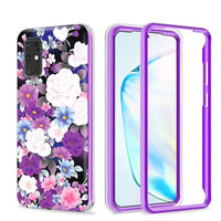 Samsung Galaxy A01 - Premium Elegant IMD Design Case - Purple