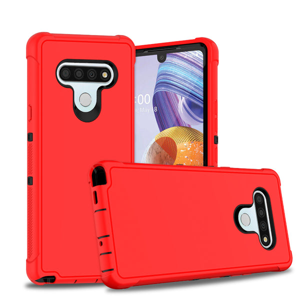 LG Arsito 5 - Premium Heavy Duty Case - Red