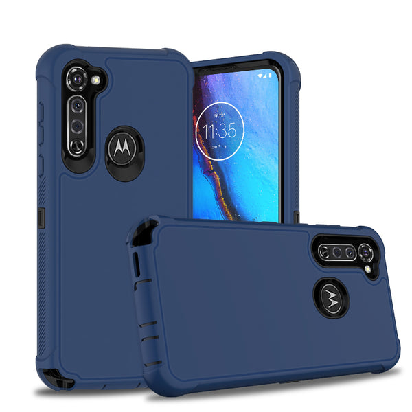 Moto G Stylus - Premium Heavy Duty Case - Blue
