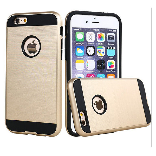 Apple iPhone 6/7/8 Plus - Brushed Slim Case - Gold