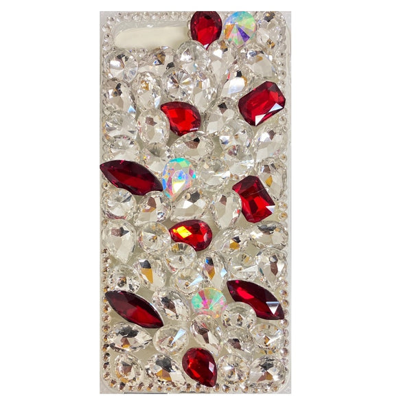 Apple iPhone 6/7/8 Plus - Premium Rhinestone Case - Red Spot