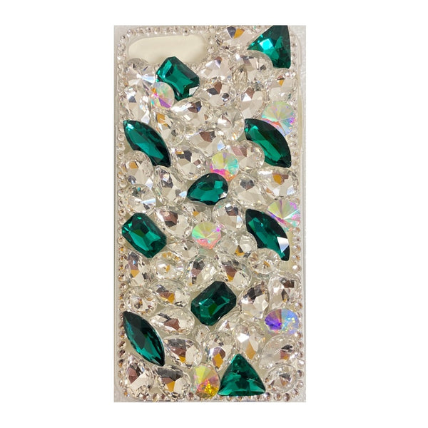 Apple iPhone 6/7/8 Plus - Premium Rhinestone Case - Green Spot