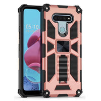 Apple iPhone 6/7/8 Plus - Premium Rugged Magnetic Kickstand Case - Rose Gold