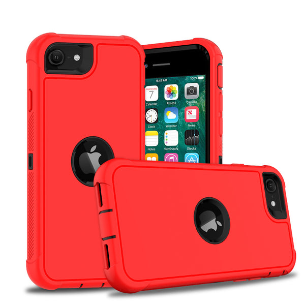 Apple iPhone SE 2020 - Premium Heavy Duty Case - Red