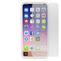 Apple iPhone XS - Tempered Glass Screen Protector - Clear