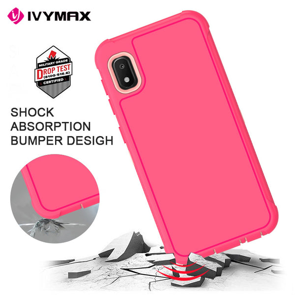 LG K40 - Premium Heavy Duty Case - Hot Pink