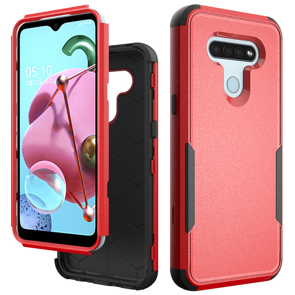 LG K51 - Premium Guardian Case - Red