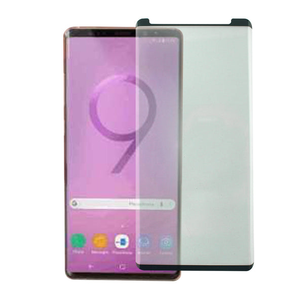 Samsung Galaxy Note 9 - Tempered Glass Screen Protector - Full Curved - Black