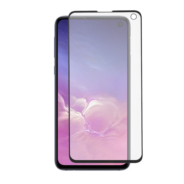 Samsung Galaxy S10e - Tempered Glass Screen Protector - Full Curved - Black