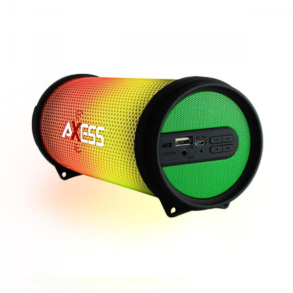 SPBL1043 - Portable Bluetooth Hi-Fi Bluetooth Speaker with Dancing LED Lights - Green
