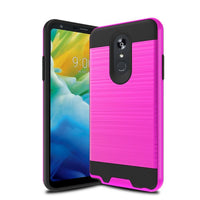 LG Stylo 5 - Brushed Slim Case - Hot Pink