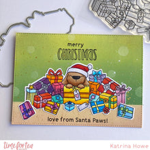 Load image into Gallery viewer, Santa Paws Clear Stamp Set