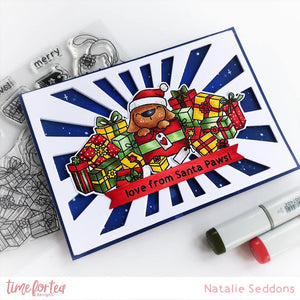 Santa Paws Clear Stamp Set