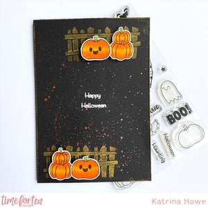 Spooktacular Clear Stamp Set