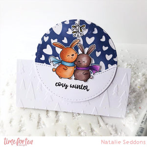 A5 Cosy Winter Stamp Set