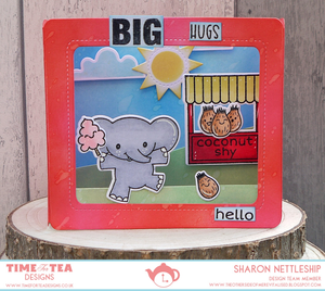 Elephantastic Coordinating Die Set