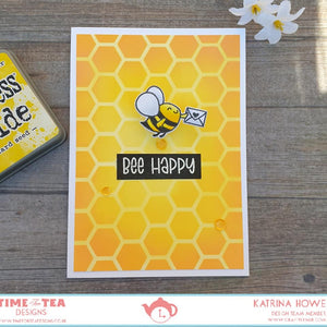 Bee Happy Clear Stamp Set