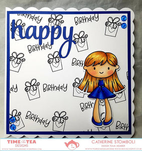 Birthday Bonnie Digital Stamp Full Collection