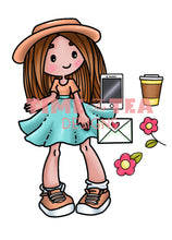 Load image into Gallery viewer, Bonnie Hey Friend Digital Stamp Set