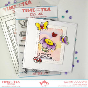 Butterflies Coordinating Die set