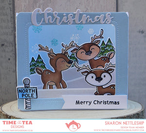 Christmas Deer Coordinating Die set