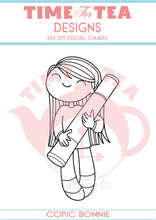 Load image into Gallery viewer, Copic & Painter Bonnie Digital Stamps