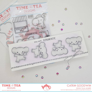Elephantastic Clear Stamp Set