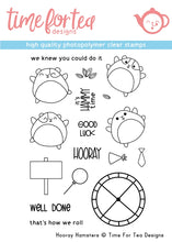 Load image into Gallery viewer, Hooray Hamster Clear Stamp Set